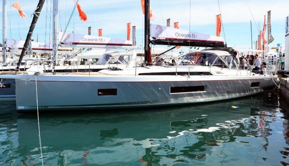 Segelboot mieten in Procida - Bénéteau Oceanis 51.1