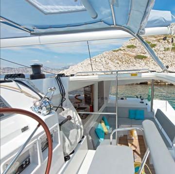 Bootsverleih Lagoon Lagoon 400 S2 Tahiti Samboat
