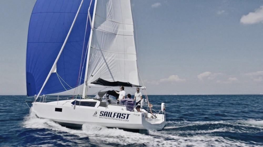 Segelboot mit oder ohne Skipper Pogo Structures mieten in Roses