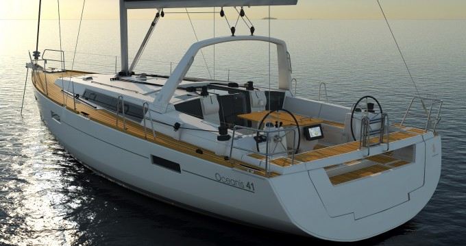 Ein Bénéteau Oceanis 41.1 mieten in Korfu