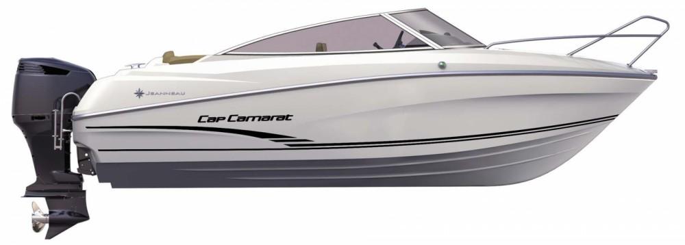 Motorboot mit oder ohne Skipper Jeanneau mieten in Mahón