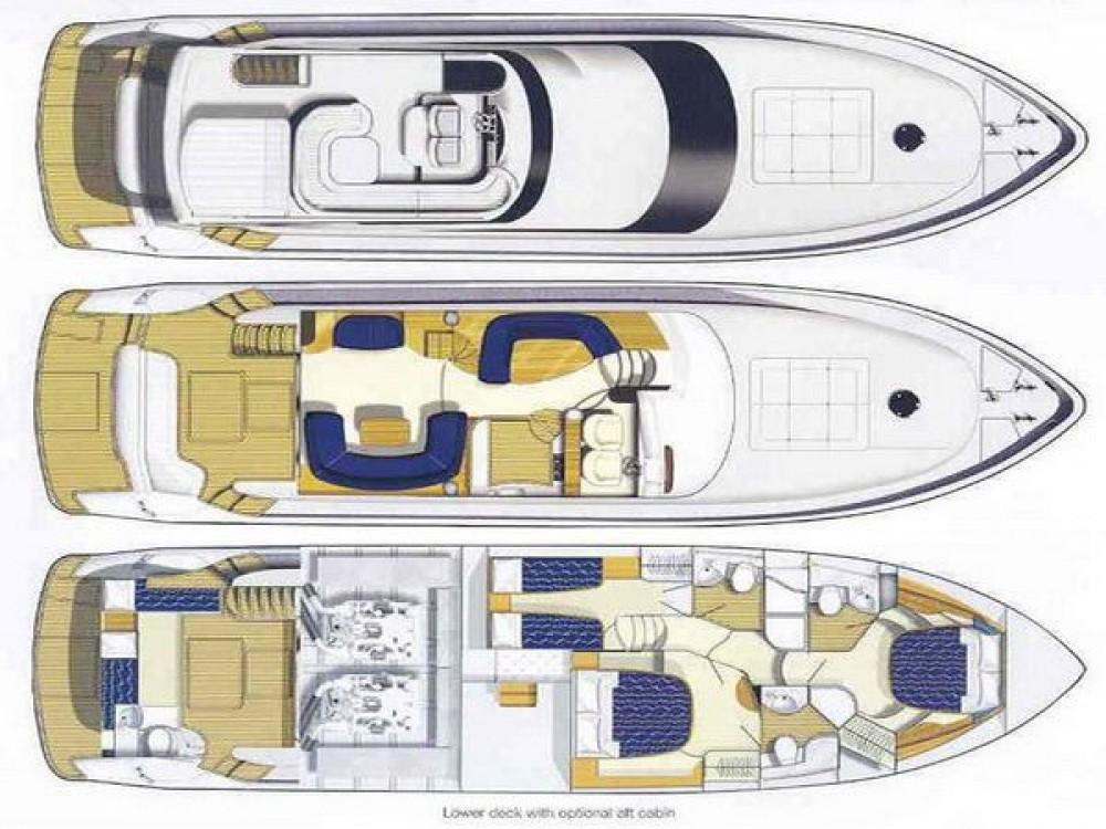 Bootsverleih Princess Princess 61 Marina Gouvia Samboat