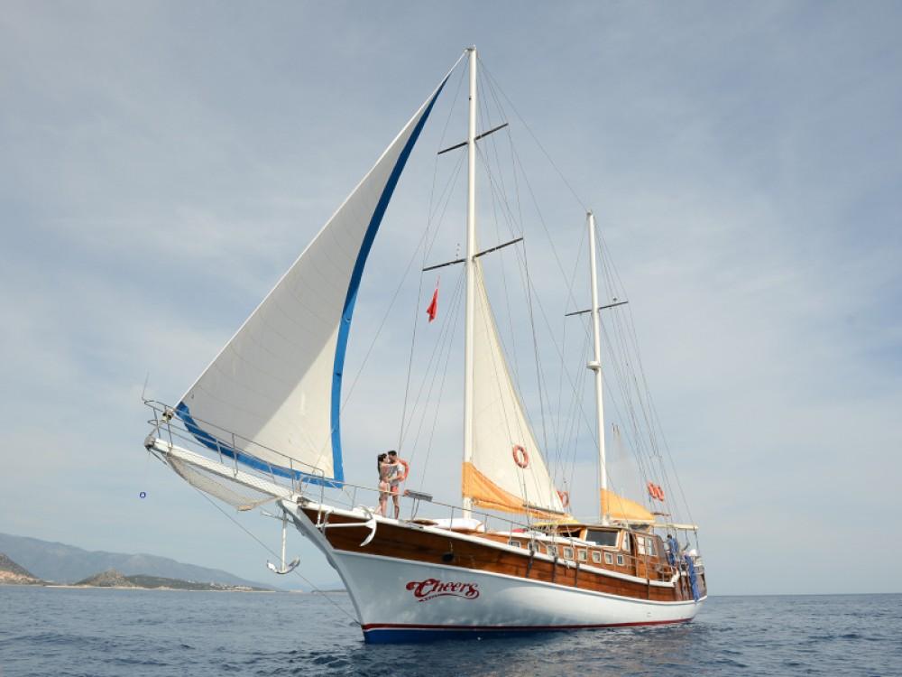 Bootsverleih  Gulet- Cheers Fethiye Samboat