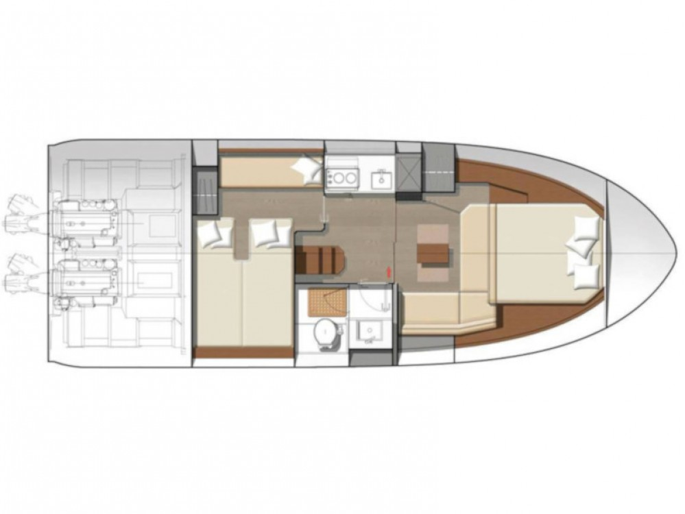 Yacht-Charter in Marina d'Arechi - Jeanneau Leader 36 auf SamBoat