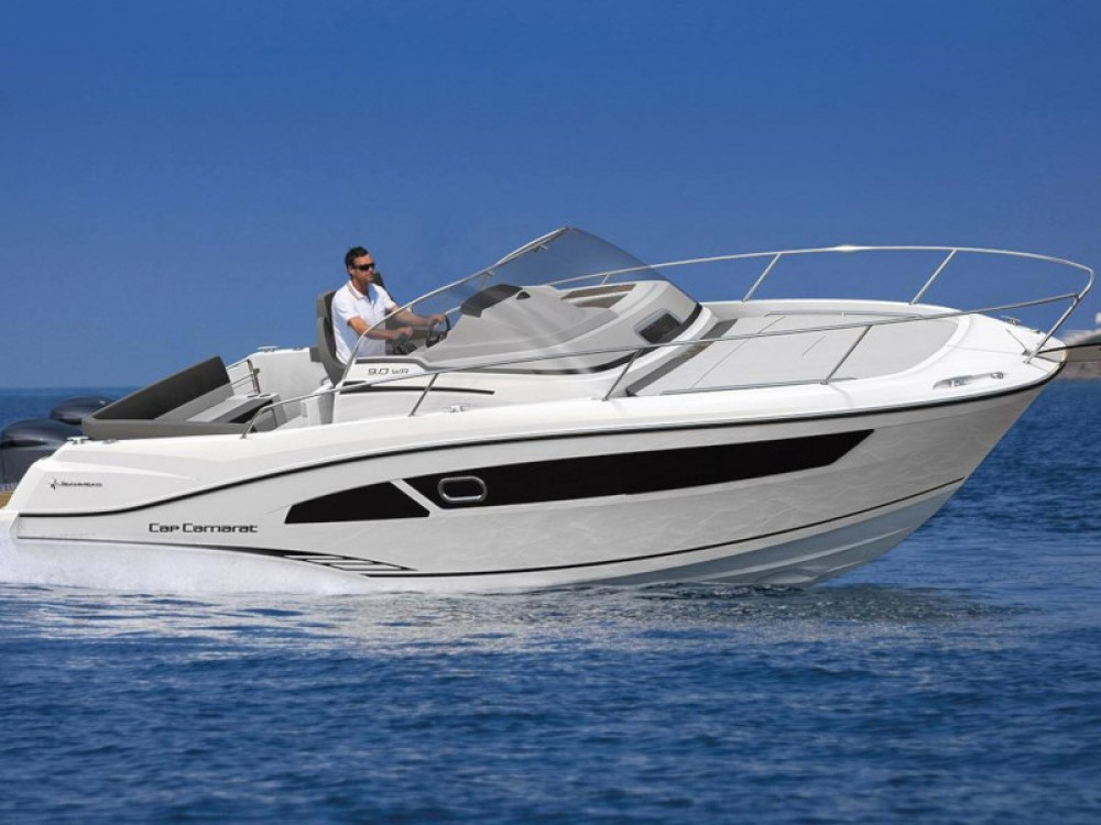 Bootsverleih Marina d'Arechi günstig Cap Camarat 9.0 WA
