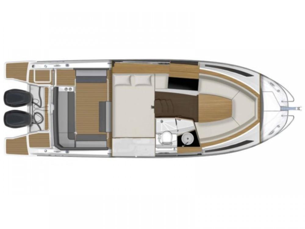 Bootsverleih Jeanneau Cap Camarat 9.0 WA Marina d'Arechi Samboat