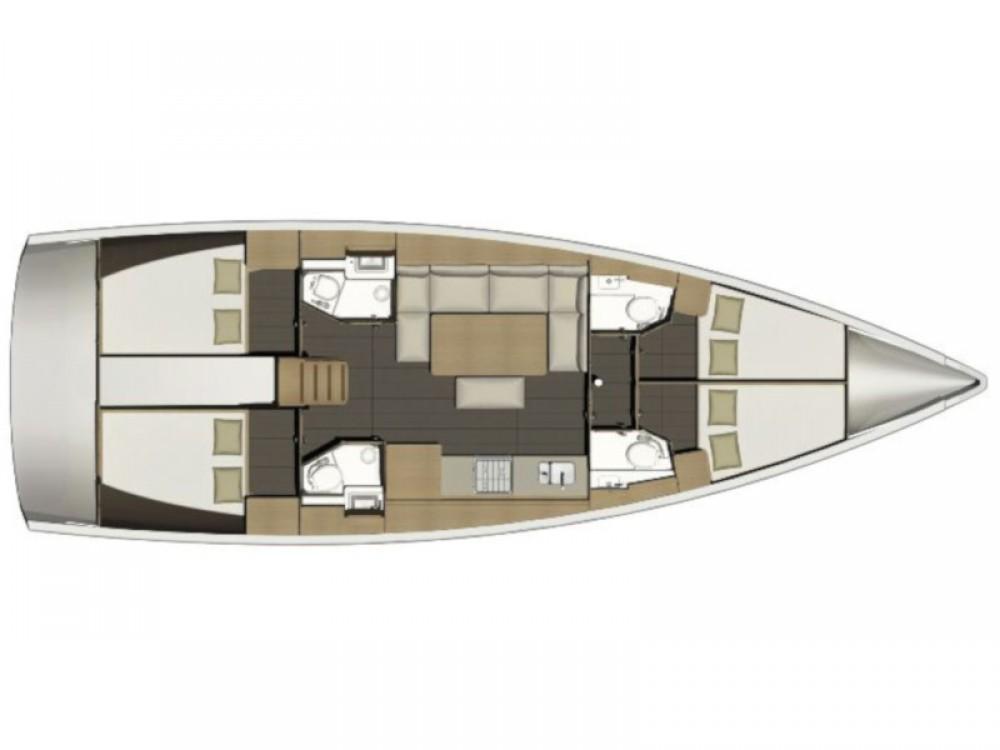 Segelboot mit oder ohne Skipper Dufour mieten in Lefkada