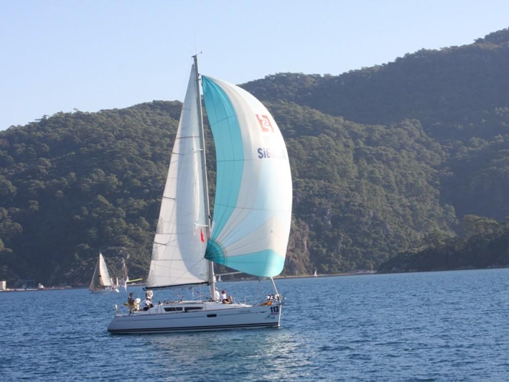 Jeanneau Sun Odyssey 36i zwischen Privatpersonen und professionellem Anbieter Marmaris