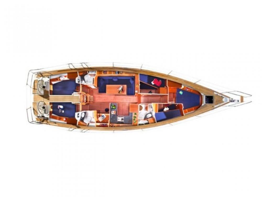 Bavaria Bavaria 51 Cruiser zwischen Privatpersonen und professionellem Anbieter Marmaris