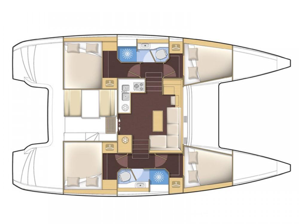 Bootsverleih Álimos günstig Lagoon 39