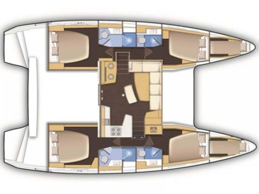 Katamaran mit oder ohne Skipper Lagoon mieten in Álimos