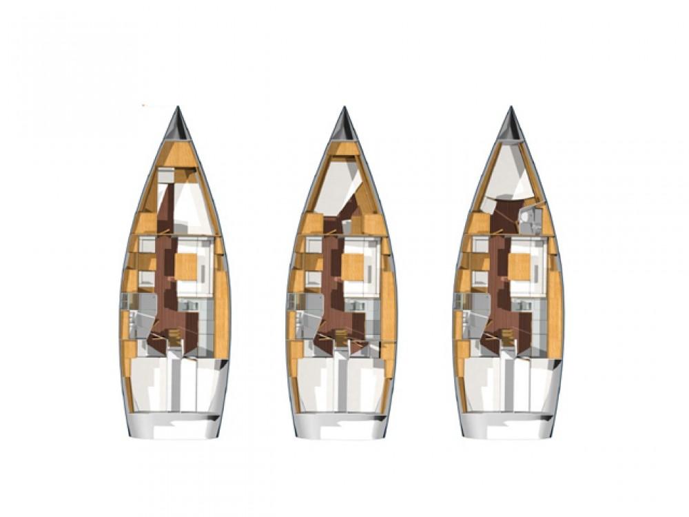 Segelboot mieten in Álimos - Hanse Hanse 400