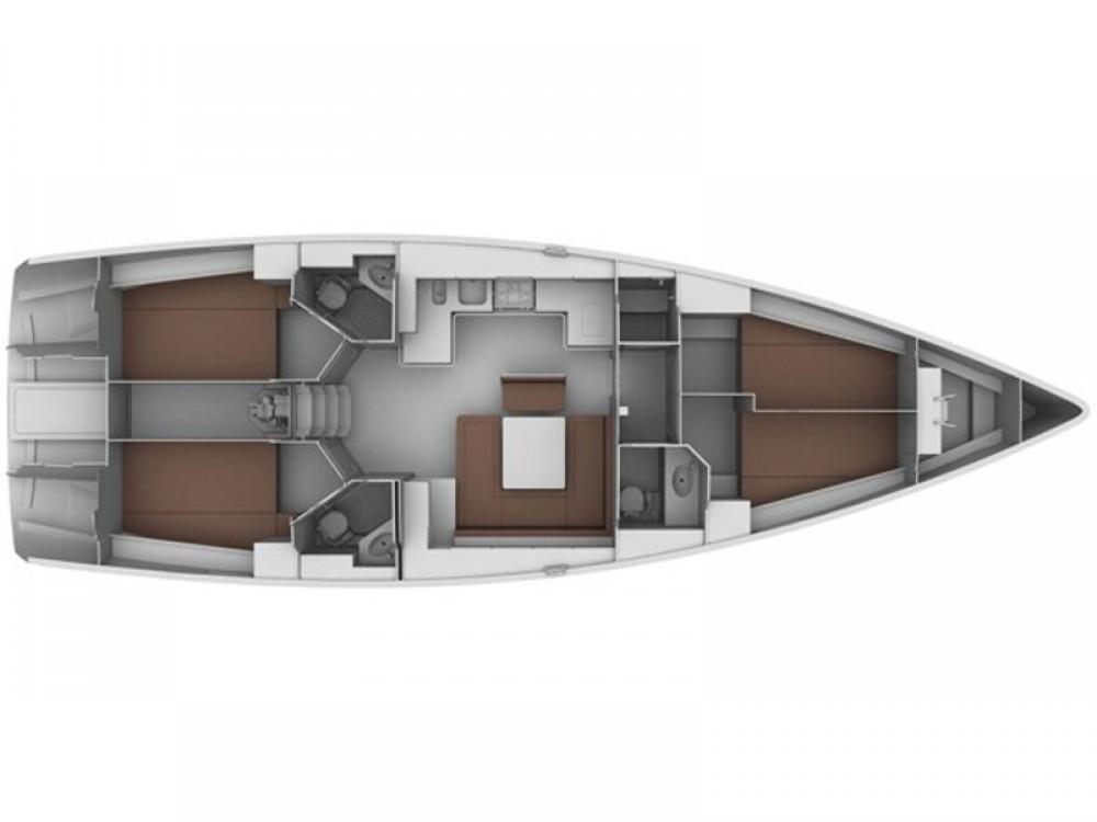 Bootsverleih Caorle günstig Bavaria 45 Cruiser