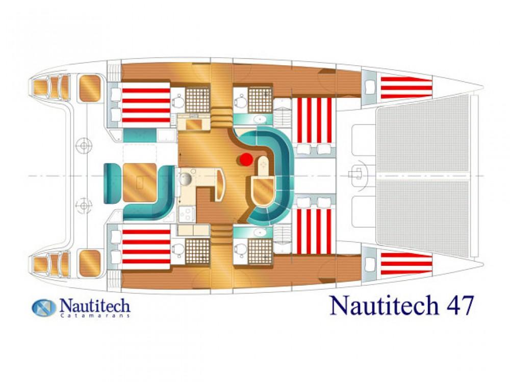 Ein Nautitech Nautitech 47 mieten in Álimos