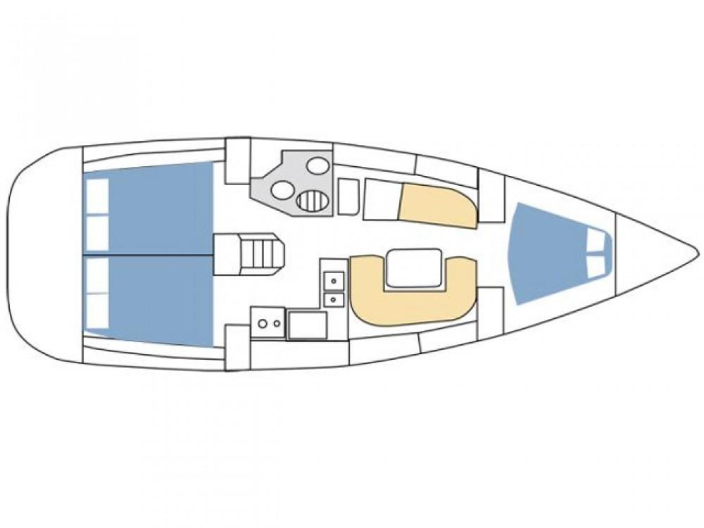 Bootsverleih Jeanneau Sun Odyssey 36i Rogoznica Samboat