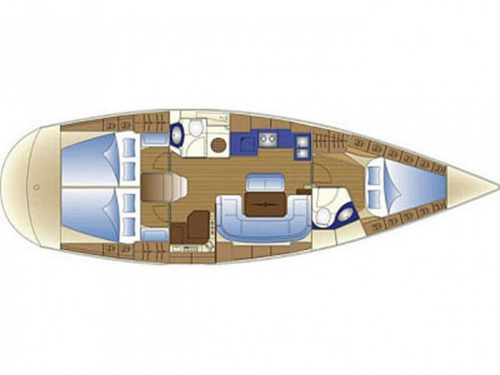 Segelboot mieten in Rogoznica - Bavaria Bavaria 42 C
