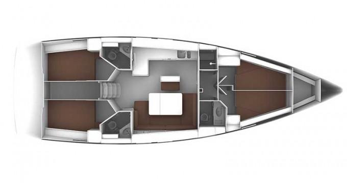 Bootsverleih Rogoznica günstig Cruiser 46