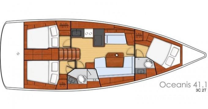 Segelboot mieten in Fethiye - Bénéteau Oceanis 41.1