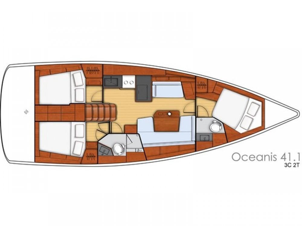 Bootsverleih Bénéteau Oceanis 411 Fethiye Samboat
