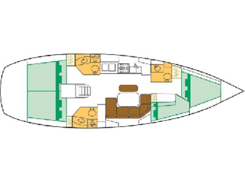 Ein Bénéteau Oceanis Clipper 423 mieten in Sukošan