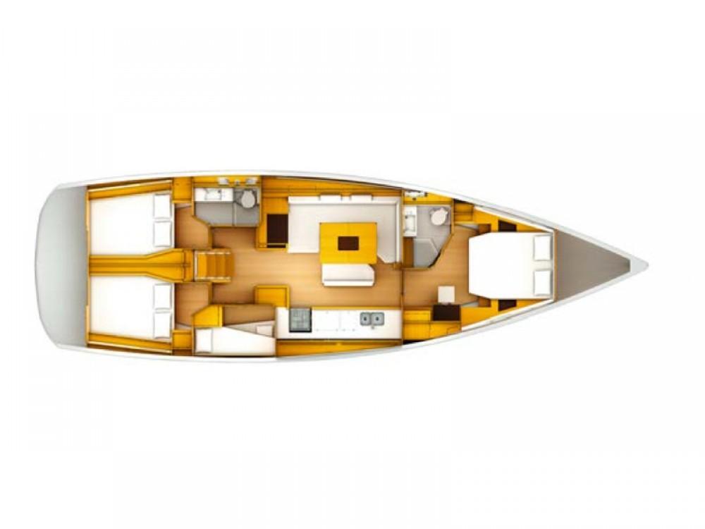 Bootsverleih Jeanneau Sun Odyssey 509 Owner Sukošan Samboat