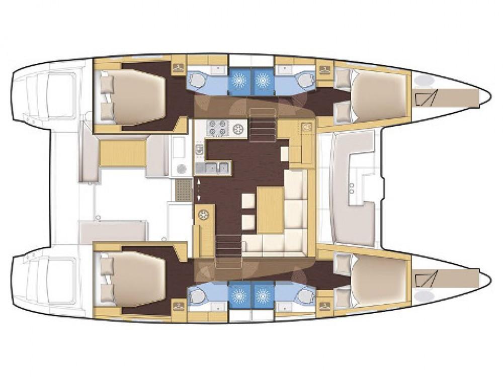 Bootsverleih Victoria günstig Lagoon 450