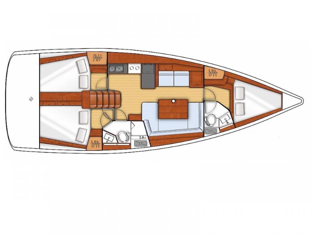 Bootsverleih Bénéteau Oceanis 41 S Sukošan Samboat
