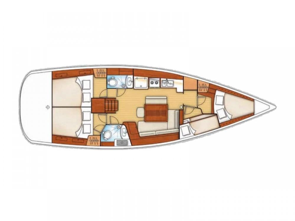 Yacht-Charter in Sukošan - Bénéteau Oceanis 43 V auf SamBoat