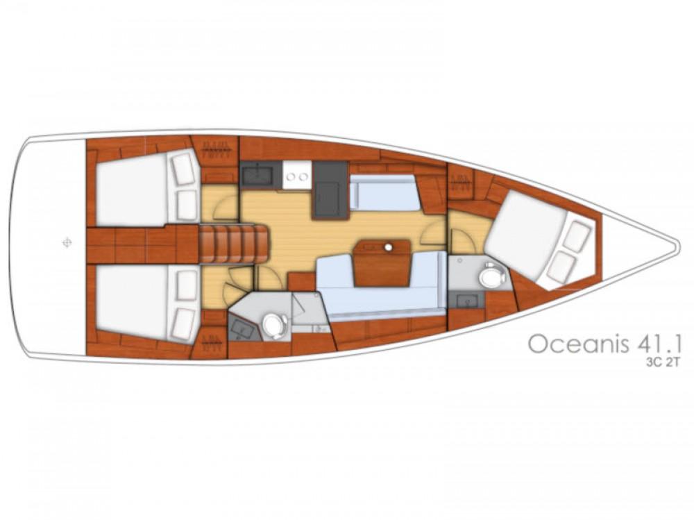 Bootsverleih Bénéteau Oceanis 41.1 Sukošan Samboat