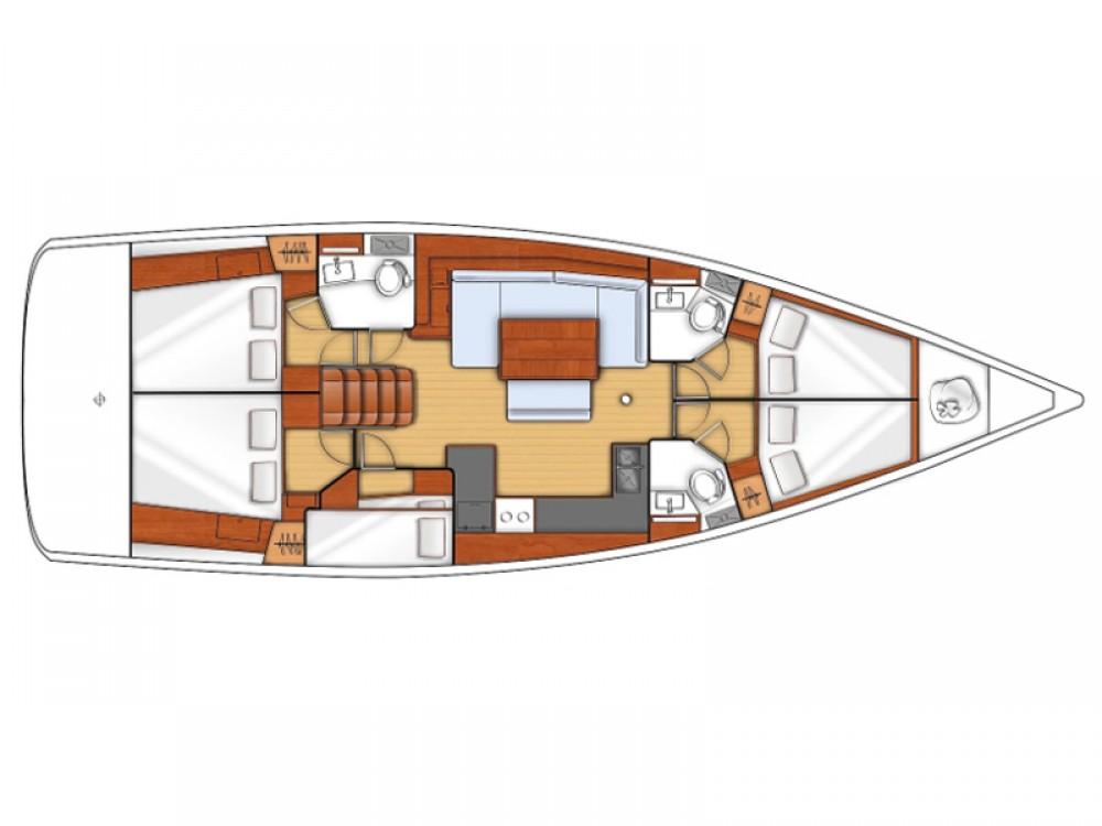 Segelboot mieten in Sukošan - Bénéteau Oceanis 48