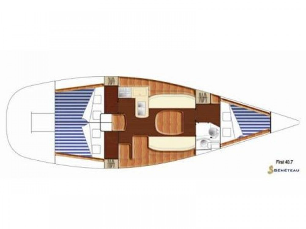 Segelboot mit oder ohne Skipper Bénéteau mieten in Primošten