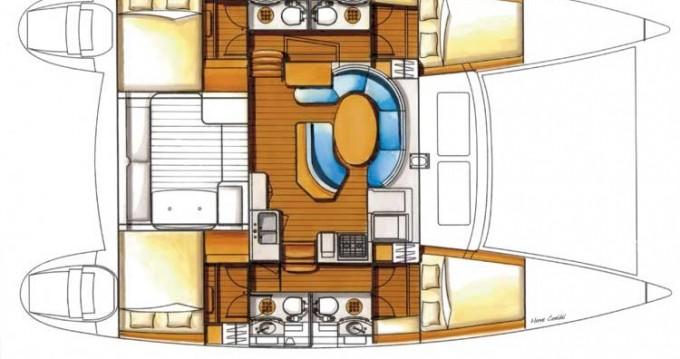 Bootsverleih Kolding günstig Lagoon 410 S2