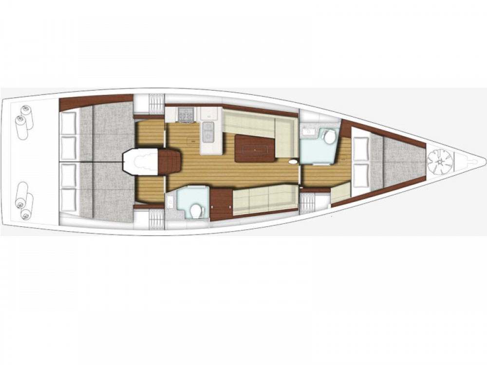 Bootsverleih X-Yachts Xp 44 Split Samboat