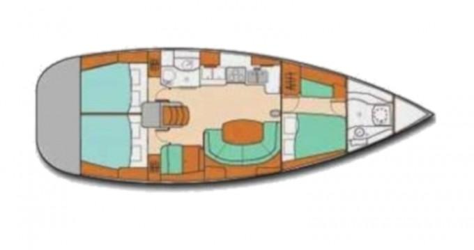 Segelboot mit oder ohne Skipper Bénéteau mieten in Ribishi
