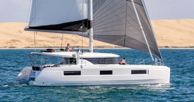 Katamaran mit oder ohne Skipper Lagoon mieten in Ribishi