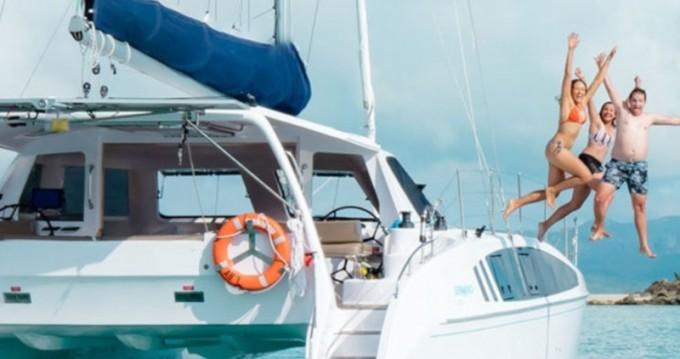 Katamaran mit oder ohne Skipper Seawind mieten in Ribishi