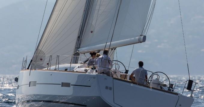 Segelboot mit oder ohne Skipper Dufour mieten in Níkiti