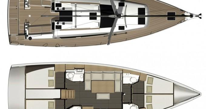 Bootsverleih Dufour Dufour 460 Grand Large Níkiti Samboat