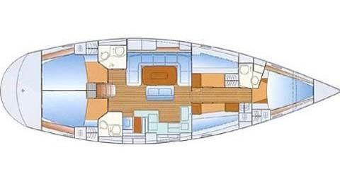 Bavaria Bavaria 50 Cruiser zwischen Privatpersonen und professionellem Anbieter Níkiti