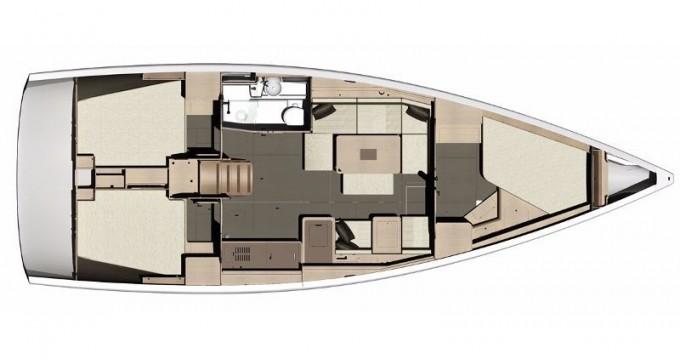 Bootsverleih Dufour Dufour 410 Grand Large Níkiti Samboat