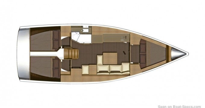 Yacht-Charter in Níkiti - Dufour Dufour 382 Grand Large auf SamBoat