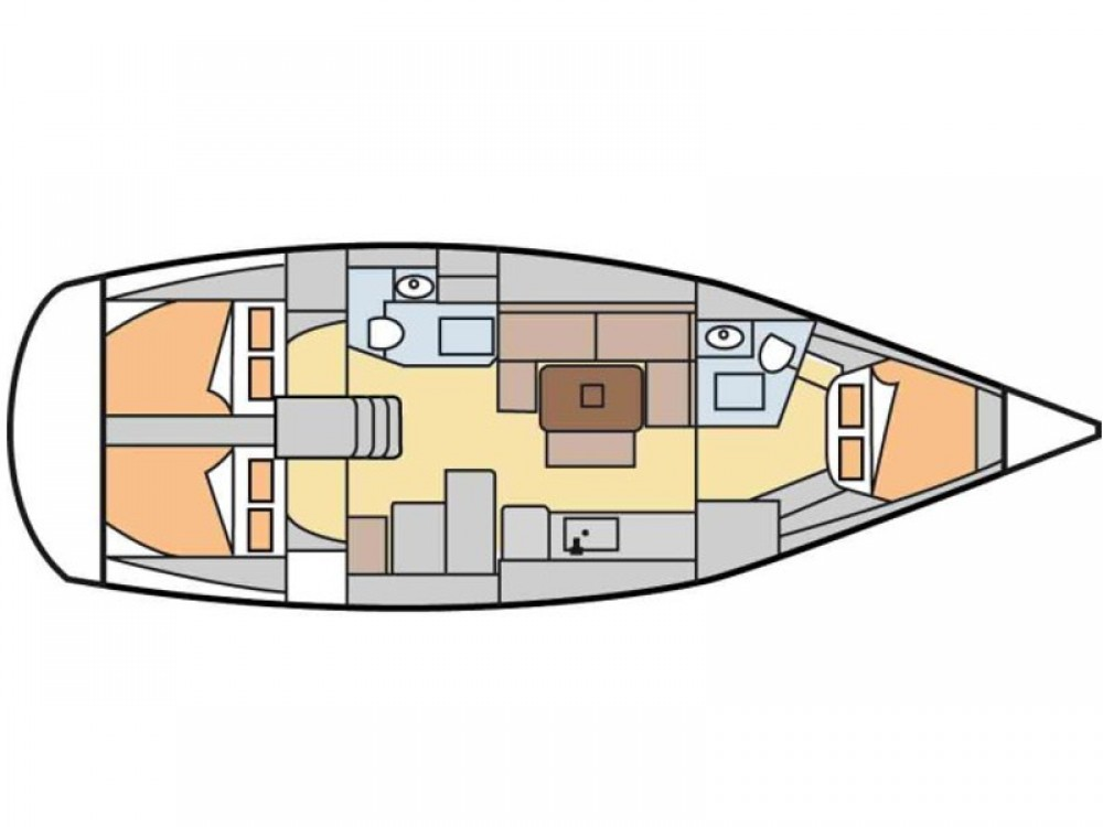 Yacht-Charter in  - Dufour Dufour 405 Grand Large auf SamBoat