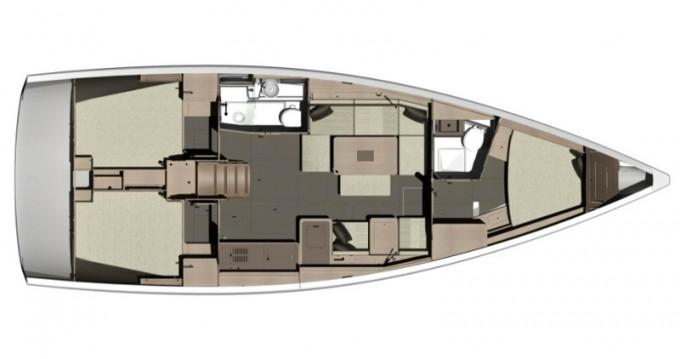 Segelboot mieten in Capo d'Orlando - Dufour Dufour 412 Grand Large