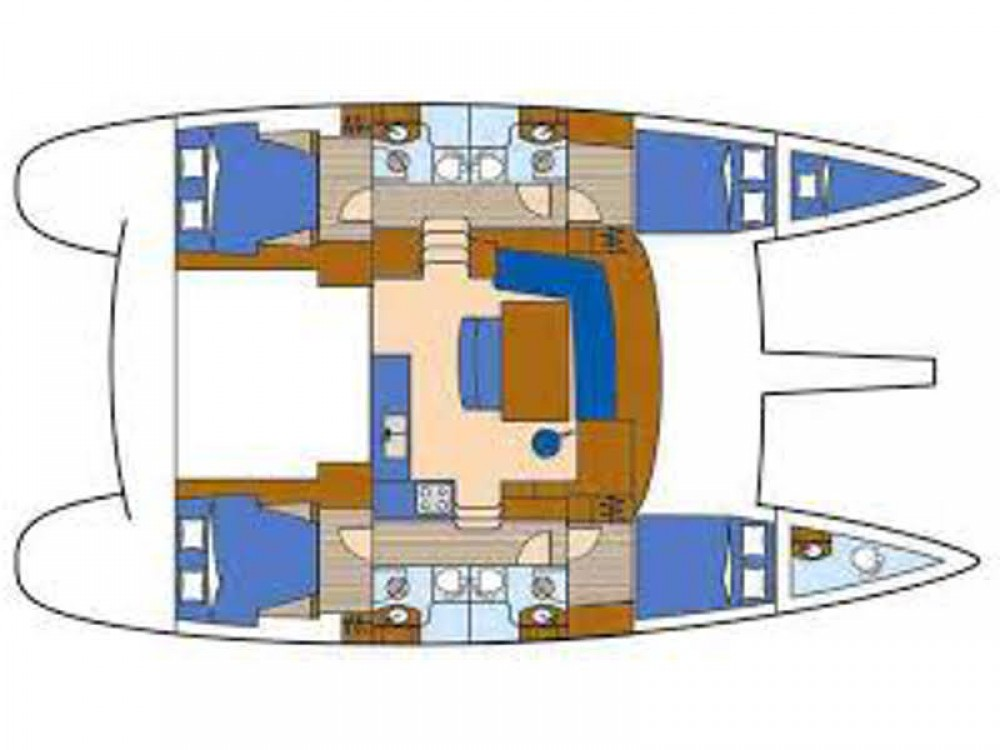 Katamaran mieten in Capo d'Orlando Marina - Lagoon Lagoon 400 S2