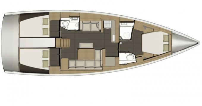 Segelboot mieten in Capo d'Orlando - Dufour Dufour 460 Grand Large