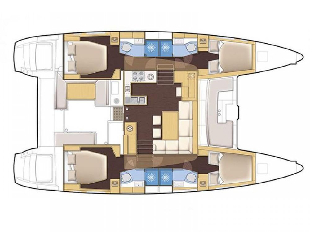 Bootsverleih Lagoon Lagoon 450 Volos Samboat