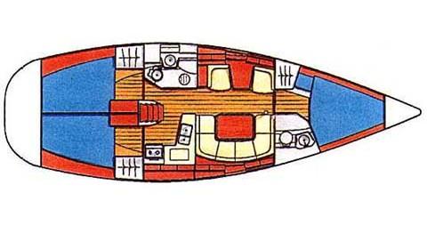 Bootsverleih Lávrio günstig Sun Odyssey 40