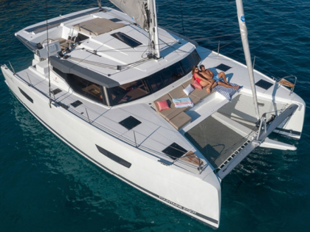 Yacht-Charter in Lávrio - Fountaine Pajot Astrea 42 auf SamBoat