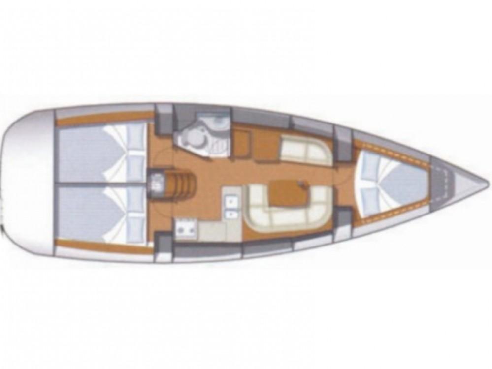 Bootsverleih Jeanneau Sun Odyssey 36i Lávrio Samboat