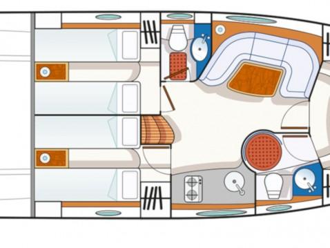 Motorboot mieten in Cannigione di Arzachena - Blu Blu Martin 46 ST